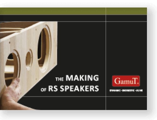 GamuT The Making of RS Speakers