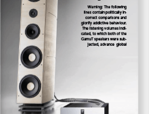 GamuT System review Audio Phile