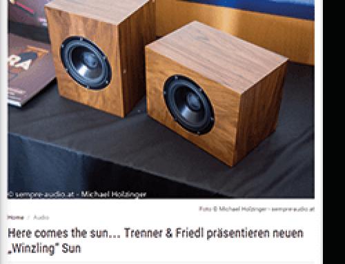 Trenner & Friedl SUN Sempre Audio