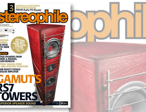 Stereophile GamuT RS7 cover